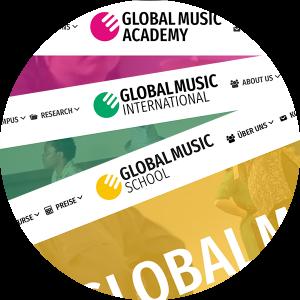 Die Global Music Academy hat neue Webseiten!
