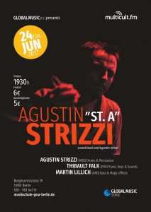 Agustin Strizzi Konzert Poster – Global Music Stage