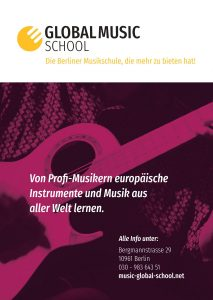 Poster Global Music School